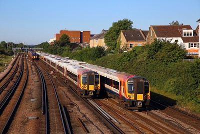 SWR Units at Wimbledon on the 29th July 2019