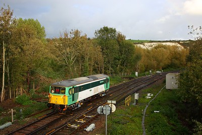 73202 on the 0Z73 Stewarts Lane to St Leonards at Lewes on the 17th October 2019 1