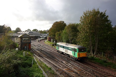 73202 on the 0Z73 Stewarts Lane to St Leonards at Lewes on the 17th October 2019