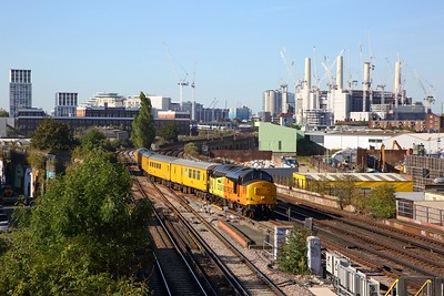 37254 on the 3Z03 Derby RTC to Dollands Moor at Wandsworth Road on the 20th September 2019-2