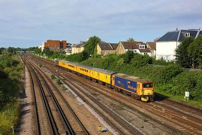 73213 leading 73212 working 5Z21 0840 Woking to Woking via London Waterloo at Wimbledon on 11 August 2021  Class73, GBRf, TestTrain, SWML, SWMLLondon