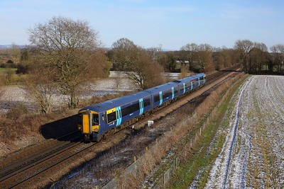 375902 working 2W42 1225 Ramsgate to London Charing Cross at Tudeley on 12 February 2021  Class375, SouthEasternMainline, SouthEastern