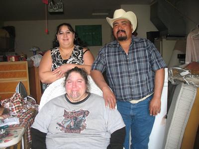 Graciela's girls Hannah and Jenny with hannah's bf Isidro