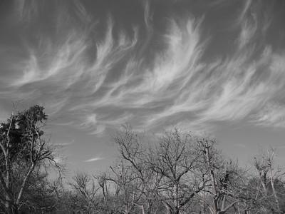 spirit cloud outside my house