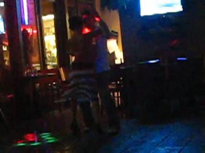 my friends Ana and Oscar dancing Bachata