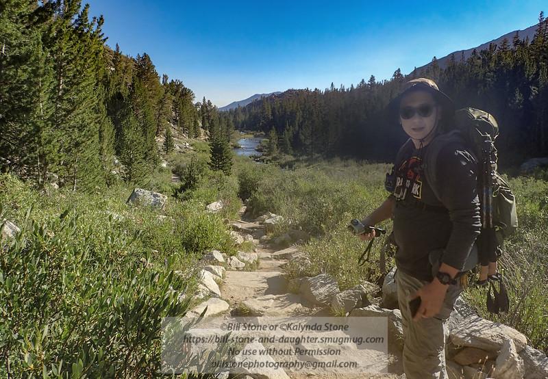 James and eastern sierra nevada stream
