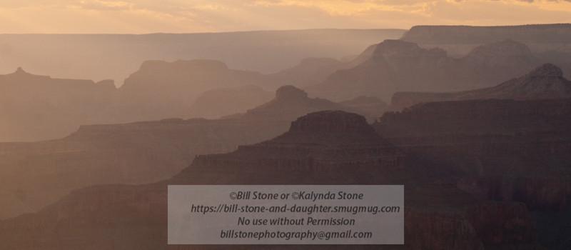 grand canyon sunset-south rim