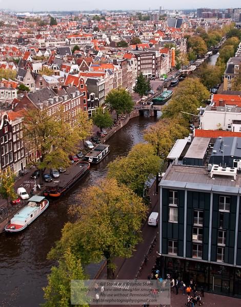 Amsterdam Canal Scene