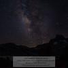 Milky Way over Banner Peak and 1000 Island Lake