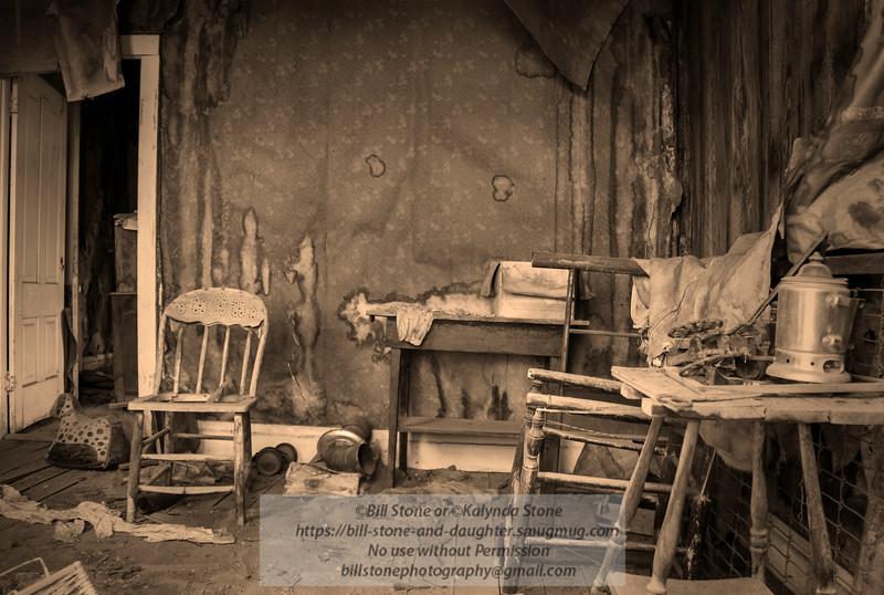 Bodie: House interior