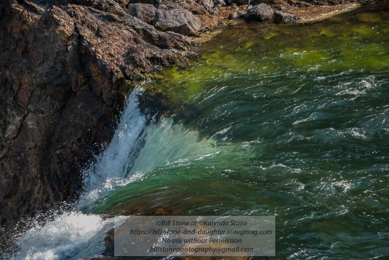 Top of Yellowstone Falls