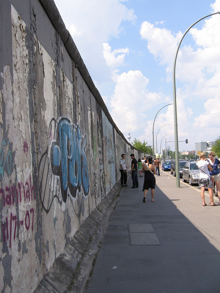 Part of the wall.