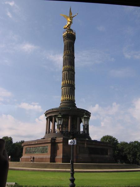 The middle of Tiergarten.