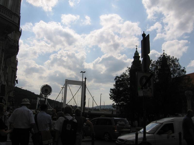 Bridge connecting Pest to Buda