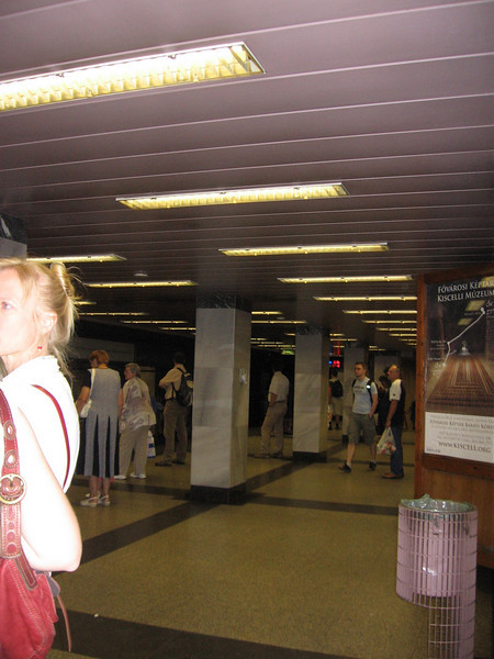 The oldest subway line in Europe, I think its called the millennium line... but I may be making things up.