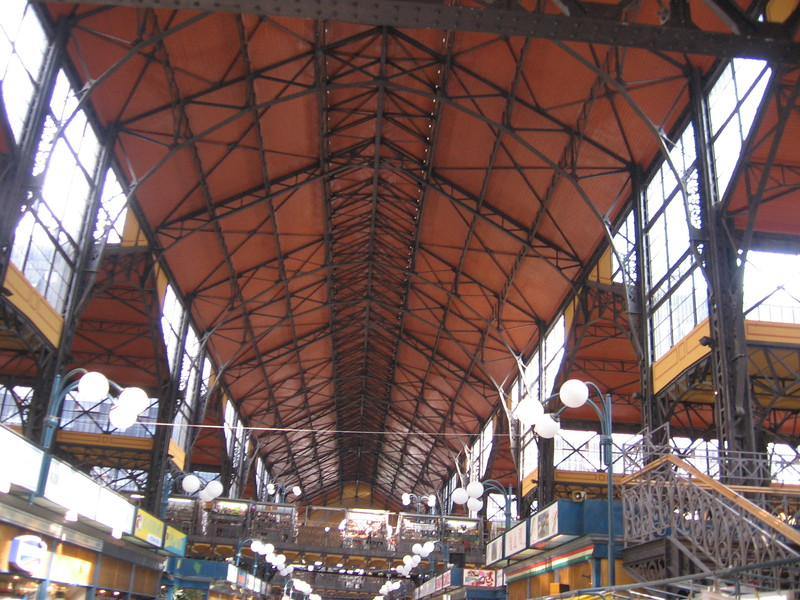 Inside the indoor market