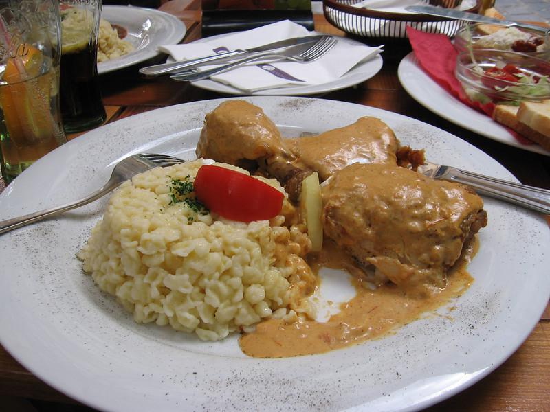 chicken Paprikash, its really tasty :)