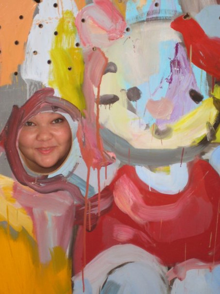 out of order, from the art gallery. I'm with Hello Kitty :)