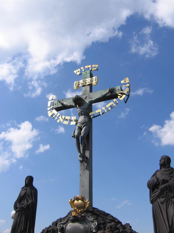 Jesus on the Charles Bridge