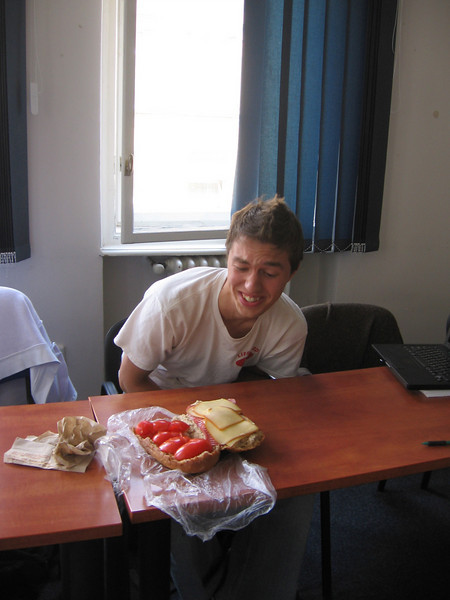 ryan and the sandwich i helped make