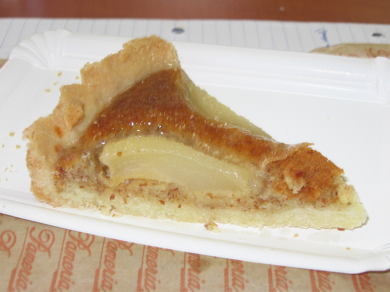 pear tart, not so great