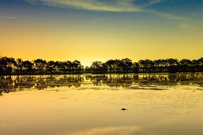 Brazos Bend Sunset