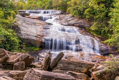 Smokey Mountains Waterfall