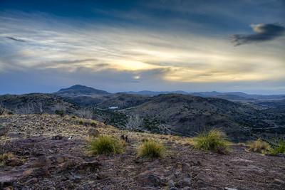 Davis Mountains Sunset
