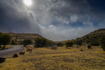 Davis Mountains Dust Storm