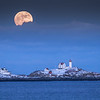 Nubble Moonrise
