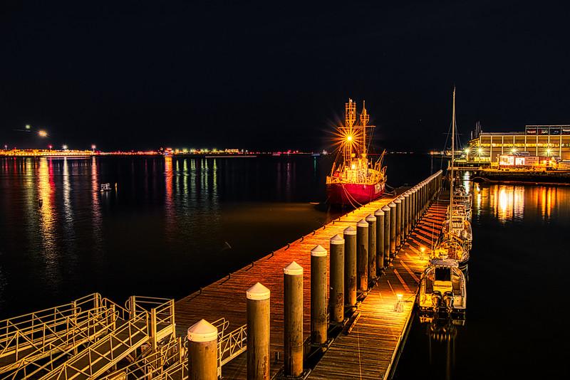 Nantucket at Night Aur Darker RAW