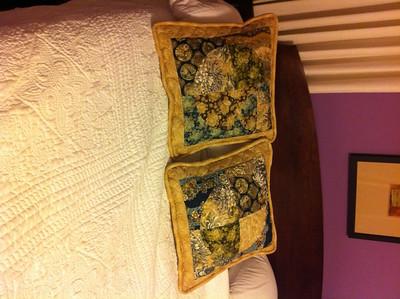 Eddie & Heather's pillows 2