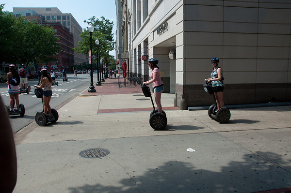 Erin's Birthday - Segway Fun!