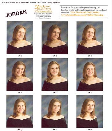 Jordan - Sr. Pics 2007