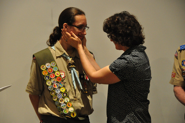 Ben's Eagle Scout Ceremony - May 2014