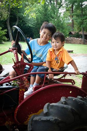 Tractor Fun! Aug. 2011