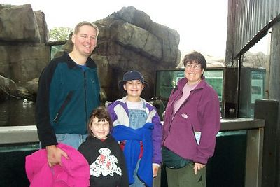 Here we are at the Seward Sealife Center