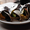 Breakfast Tacos at Spider House!  Assorted Vegetarian ones pictures here.