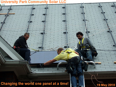 Solar Panel Installation - Day 3,4