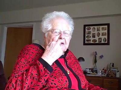 Frances Buohl - Christmas 2007