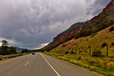 Red Rock Approaching