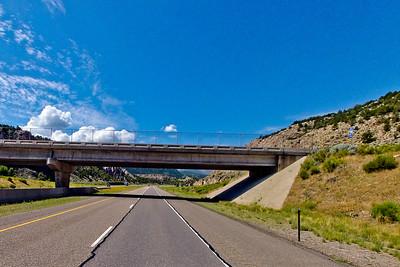 Bridge Sky and Highway