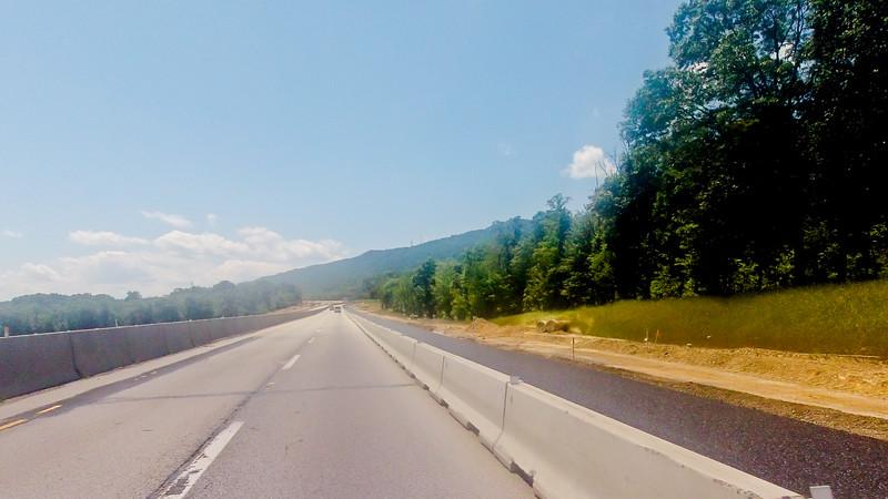 Driving through Pennsylvania Foundation Photograph 51