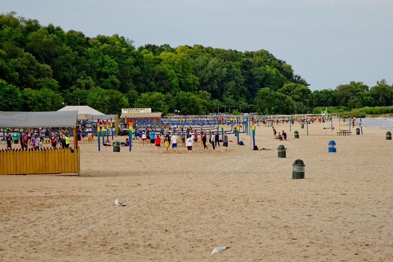 Beach Activities in Milwaukee