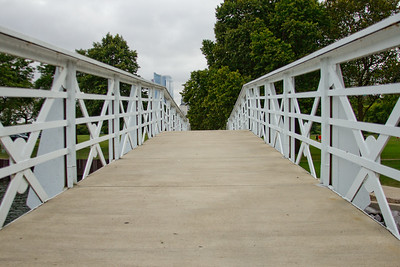 Bridge in the Park in Milwaukee