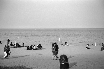 Milwaukee Cityscape on Black and White 35mm Film Photograph 19