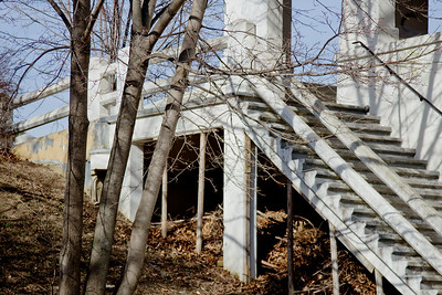 32 Sleeping Spring in Kearsley Park, Flint Michigan, USA