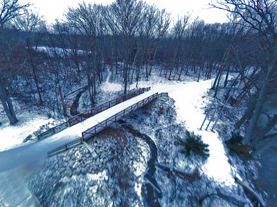 Stepping Stone Falls Soft Light Aerial Photography 14