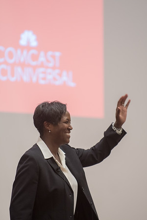 City Year Career day sponsored by Comcast at Boston University Friday March 2, 2018.