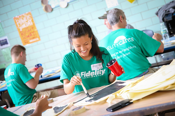 Fidelity Investments Service Event 2018 - City Year Boston